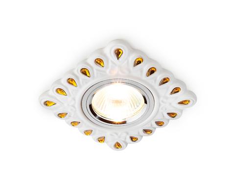 Светильник D5550 W/YL белый желтый керамика