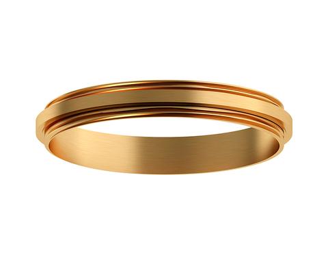 Коннектор декоративный для соединения корпуса светильника D70+D70mm A2072 PYG золото желтое полированное D70*H9mm Out1.5mm