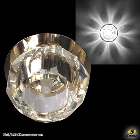 2040/B G9 GD светильник точ.