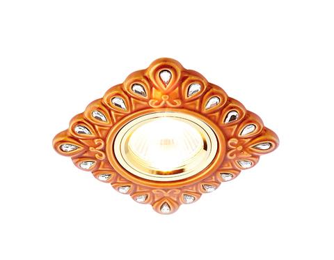 Светильник D5550 SB/CL бронза прозрачный керамика