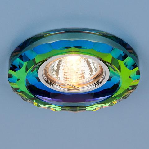 Точечный светильник со стеклом 8809 MR16 MULTI мульти