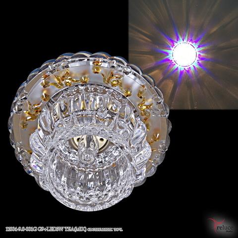 11004-9.0-001G G9+LED3W TEA(MIX) светильник точ.
