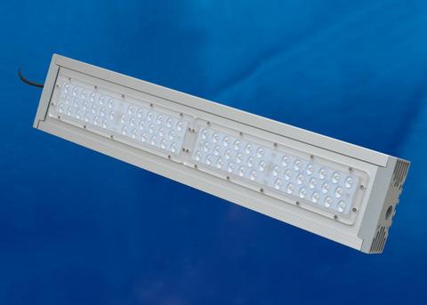 ULV-R24J 100W/6500К IP65 SILVER Светильник светодиодный уличный консольный. Дневной свет (6500К). Угол 120x90 градусов. TM Uniel.