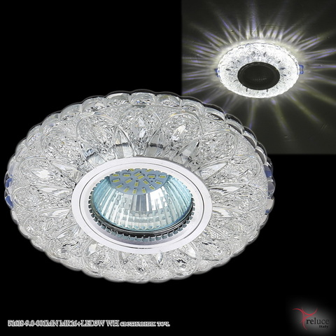 51618-9.0-001MN MR16+LED3W WH светильник точ.
