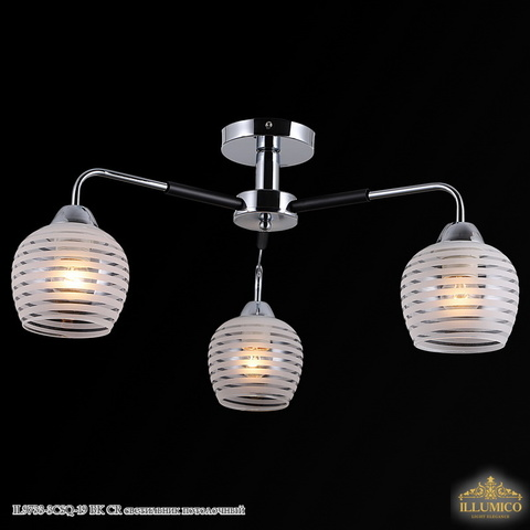 IL9733-3CSQ-19 BK CR светильник потолочный