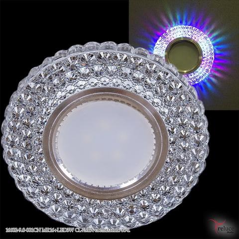 16602-9.0-001CN MR16+LED3W CL+MIX светильник точ.