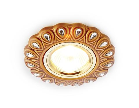 Светильник D5540 SB/CL бронза прозрачный керамика