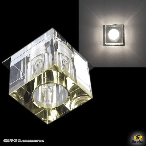 6026/F G9 YL светильник точ.