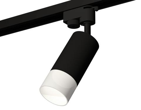 Комплект трекового светильника XT6323170 SBK/FR черный песок/белый матовый MR16 GU5.3 (A2521, C6323, N6252)