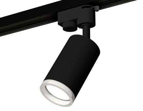 Комплект трекового светильника XT6323140 SBK/FR черный песок/белый матовый MR16 GU5.3 (A2521, C6323, N6245)