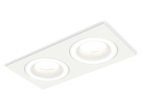 Комплект встраиваемого светильника XC7635040 SWH белый песок MR16 GU5.3 (C7635, N7110)