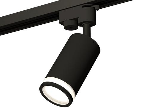 Комплект трекового светильника XT6323101 SBK/FR черный песок/белый матовый MR16 GU5.3 (A2521, C6323, N6221)