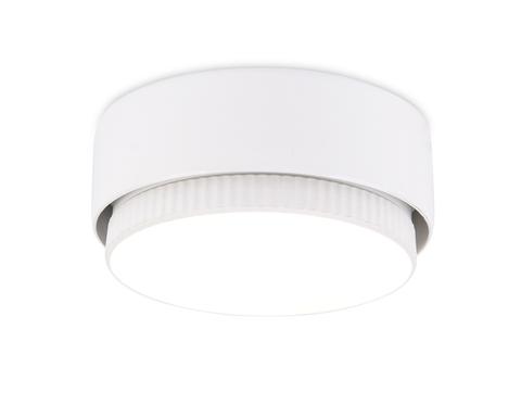Накладной точечный светильник G102 WH белый GX53 D82*25