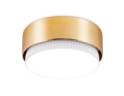Накладной точечный светильник G102 GD золото GX53 D82*25