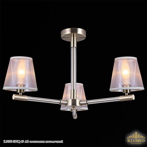 IL9395-3PSQ-19 AB светильник потолочный