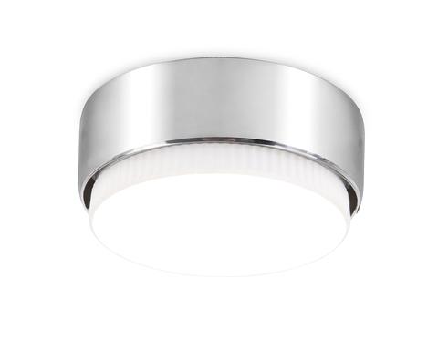 Накладной точечный светильник G102 СH хром GX53 D82*25
