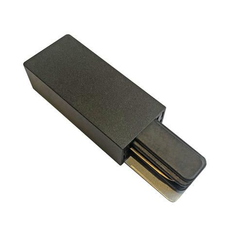 UBX-Q122 G01 BLACK 1 POLYBAG Ввод питания для шинопровода типа G. Однофазный. Черный. ТМ Volpe.