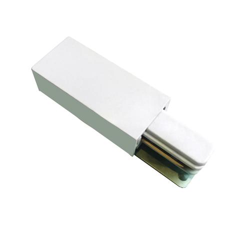 UBX-Q122 G01 WHITE 1 POLYBAG Ввод питания для шинопровода типа G. Однофазный. Белый. ТМ Volpe.
