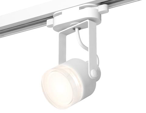 Комплект трекового однофазного светильника XT6601083 WH/FR/CL белый/белый матовый/прозрачный MR16 GU10 (C6601, N6241)