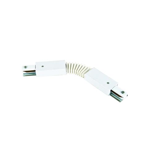 UBX-Q122 G24 WHITE 1 POLYBAG Соединитель для 2-х шинопроводов типа G, гибкий. Однофазный. Белый. ТМ Volpe.
