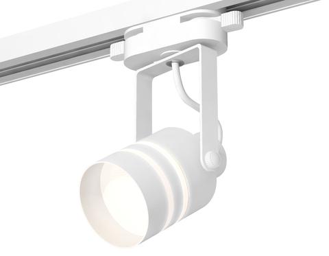 Комплект трекового однофазного светильника XT6601082 WH/SWH/FR белый/белый песок/белый матовый MR16 GU10 (C6601, N6235)