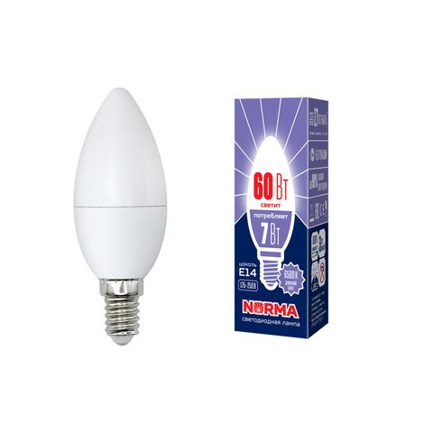 LED-C37-7W/DW/E14/FR/NR Лампа светодиодная. Форма