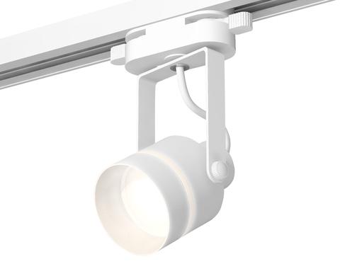 Комплект трекового однофазного светильника XT6601081 WH/SWH/FR белый/белый песок/белый матовый MR16 GU10 (C6601, N6228)