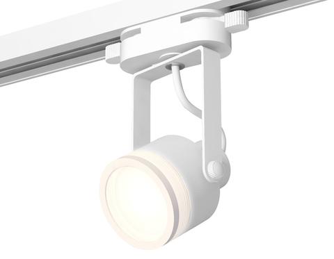 Комплект трекового однофазного светильника XT6601080 WH/SWH/FR белый/белый песок/белый матовый MR16 GU10 (C6601, N6220)