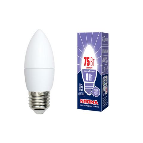 LED-C37-9W/DW/E27/FR/NR Лампа светодиодная. Форма