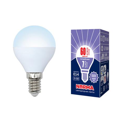 LED-G45-7W/DW/E14/FR/NR Лампа светодиодная. Форма