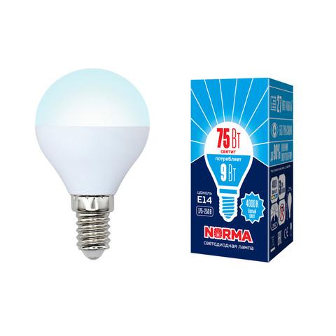 LED-G45-9W/NW/E14/FR/NR Лампа светодиодная. Форма