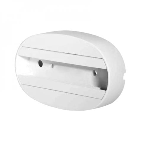 UBX-Q122 G81 WHITE 1 POLYBAG Чашка потолочного крепления. Однофазная. Белая. ТМ Volpe.