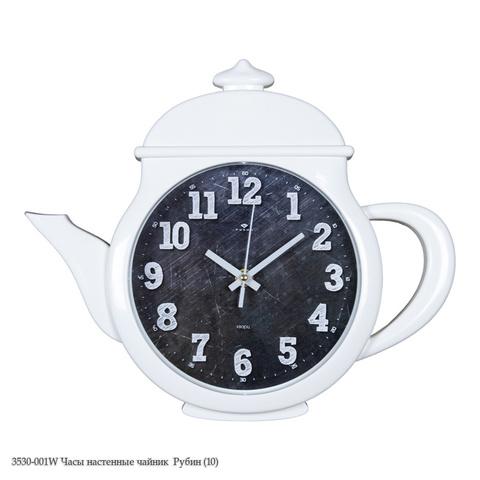 3530-001W Часы настенные чайник