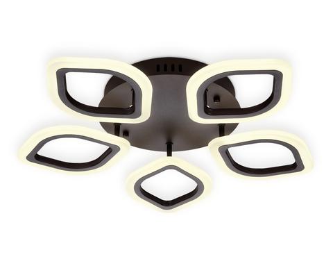 Потолочный светодиодный светильник с пультом FA443/5 CF кофе 60W 540*520*80 (ПДУ РАДИО 2.4G)