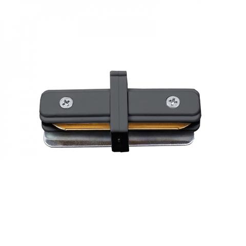 UBX-Q122 G11 BLACK 1 POLYBAG Соединитель для 2-х шинопроводов типа G, прямой внутренний. Однофазный. Черный. ТМ Volpe.