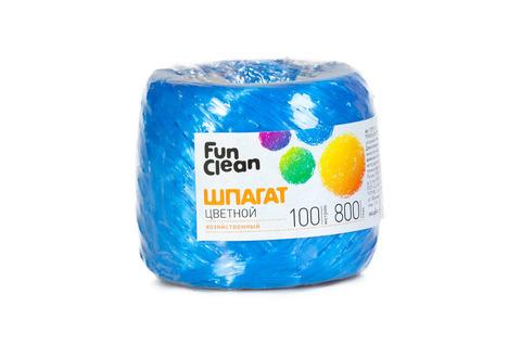 Шпагат Fun Clean полипропиленовый, 800 текс, 100м, цветной