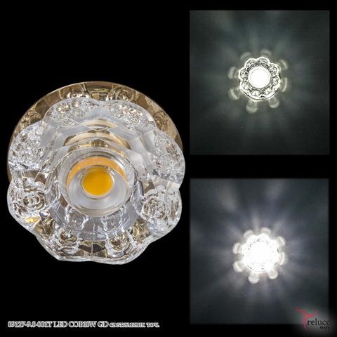 09127-9.0-001T LED COB10W GD светильник точ.