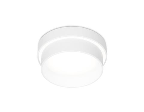 Встраиваемый точечный светильник TN198 WH/S белый/песок GU5.3 D90*60