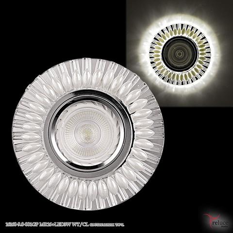 16168-9.0-001GP MR16+LED3W WT/CL светильник точ.