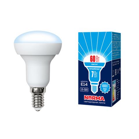 LED-R50-7W/NW/E14/FR/NR Лампа светодиодная. Форма