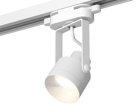 Комплект трекового однофазного светильника XT6601040 WH/SWH белый/белый песок MR16 GU10 (C6601, N6130)