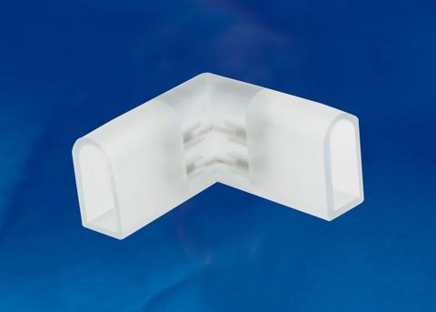 UTC-K-22/N21 CLEAR 010 POLYBAG Соединитель контактный L-образный для светодиодных лент ULS-N21 NEON 220В, 8x16мм, 2 контакта. Цвет прозрачный, 10 штук в пакете. TM Uniel.