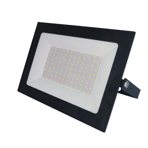 ULF-F21-100W/3000K IP65 200-250В BLACK Прожектор светодиодный. Теплый белый свет (3000К). Корпус черный. TM Uniel