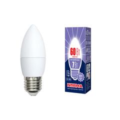 LED-C37-7W/DW/E27/FR/NR Лампа светодиодная. Форма