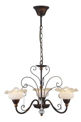 Подвесной светильник Escada 497/3 E14*40W D505 Black Brush Gold