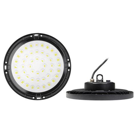 ULY-U34C-100W/6500K IP65 BLACK Светильник светодиодный промышленный. Дневной свет (6500K). Угол 120 градусов. TM Uniel.