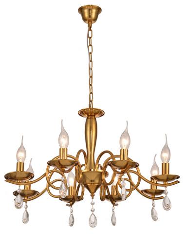 Подвесной светильник Escada Carmella 541/8 E14*60W D640 Gold