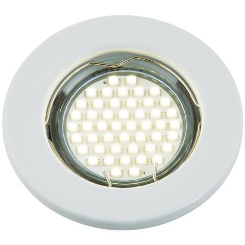 DLS-A104 GU5.3 WHITE Светильник декоративный встраиваемый