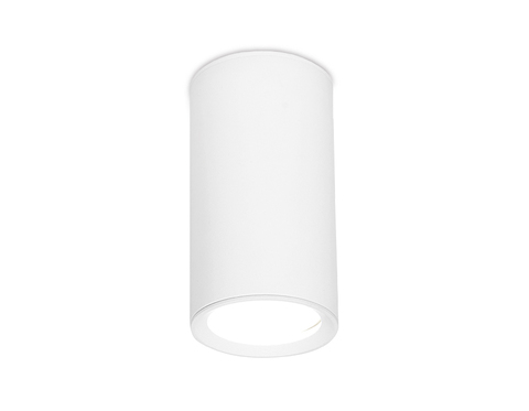 Накладной точечный светильник TN218 WH/S белый/песок GU5.3 D56*100
