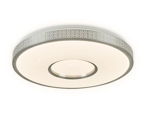 Потолочный светодиодный светильник с пультом FF82 WH белый 72W D500*85 (ПДУ Радио 2.4)